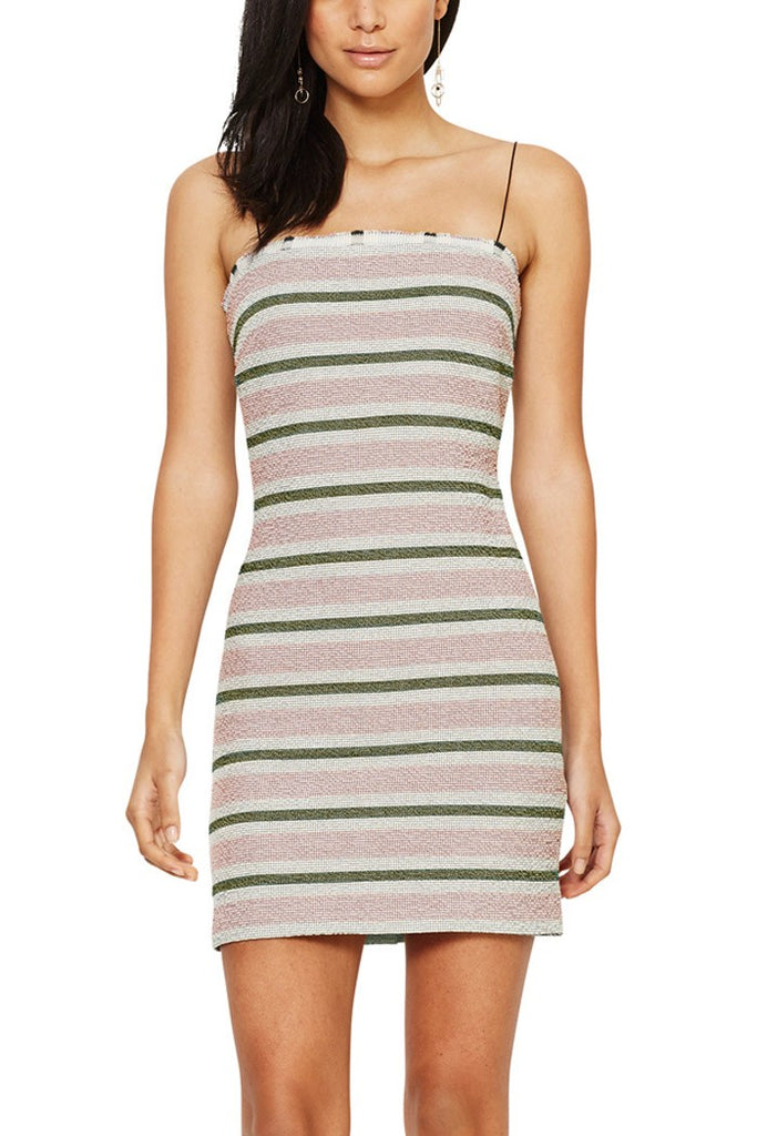 Bec & Bridge Icebergs Mini Dress in Ravesis (Pink)
