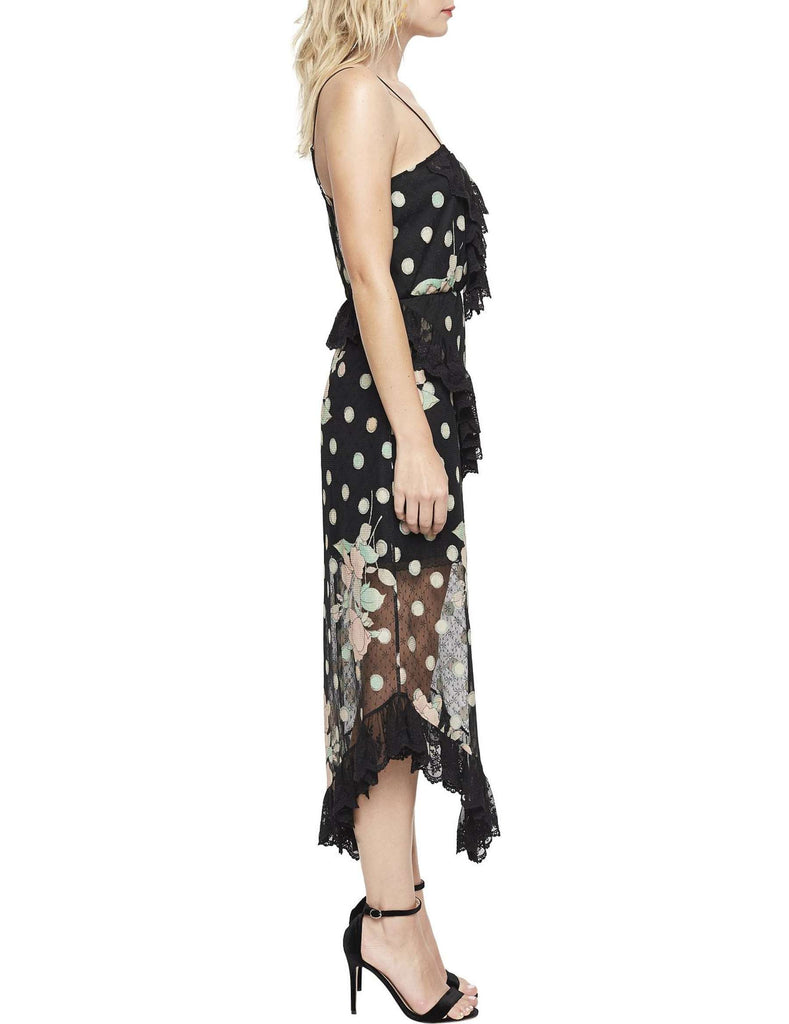 38d7a042d111 ... Alice McCall We Are Golden Dress in Spot the Dot Black - Never Twice ...
