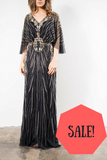 On Sale Grace & Blaze Opera Evening Gown in Black