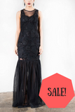 On sale Grace & Blaze Whimsical Evening Dress in Black