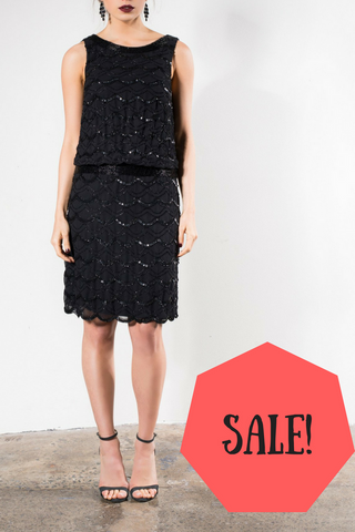 On sale Grace & Blaze Ritz Cocktail Dress in Black