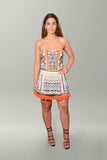 Front view Camilla Dress Up Box Strapless Mini