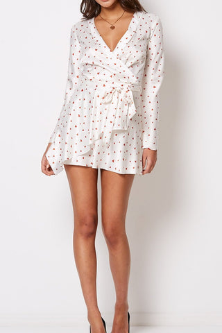 Bec & Bridge Love Spell Mini Dress in Ivory