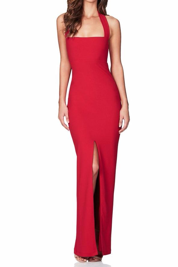 Nookie Boulevarde Maxi Gown in Red - Never Twice