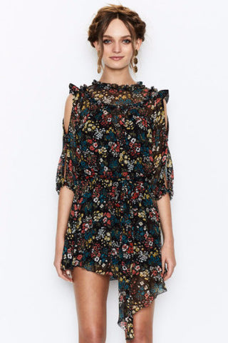 Alice McCall Pirouette Dress Night Bloom - Never Twice