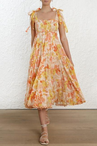 Zimmermann Primrose Crinkle Dress - Never Twice