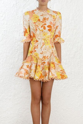 Zimmermann Primrose Flutter Dress - Never Twice