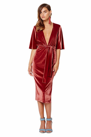 Bec & Bridge Ruba Rombic Dress - Never Twice