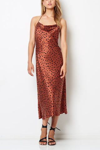 Bec & Bridge Wild Cat Halter Dress - Never Twice