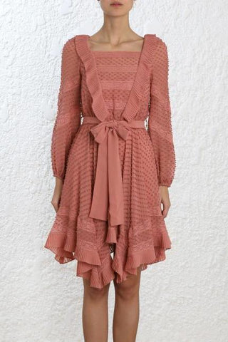 Zimmermann Unbridled Rose Dress - Never Twice