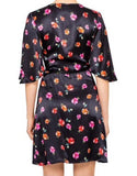Back view Bec & Bridge Floral Wrap Dress