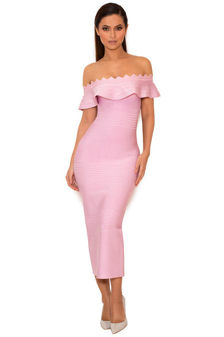 House of CB Amadea Dress in Lilac - Never Twice