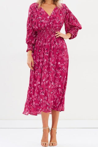 Steele. Winnie Midi Dress