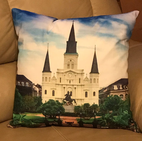 Pillow St. Louis Cathedral