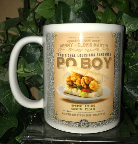 NEW ORLEANS PO-BOY 11oz Ceramic Mug