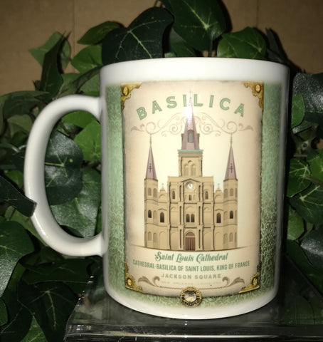 ST. LOUIS CATHEDRAL 11oz Ceramic Mug