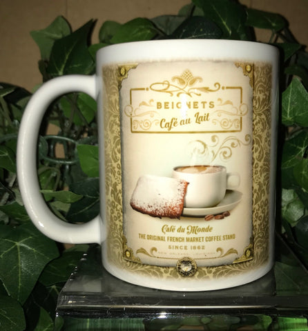 BEIGNET 11oz Ceramic Mug