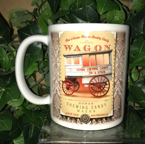 ROMAN CANDY MAN WAGON 11oz Ceramic Mug