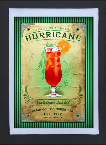 2017 New Orleans Culture Tea Towel Hurricane