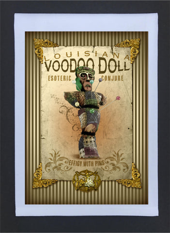 2017 New Orleans Culture Tea Towel VooDoo