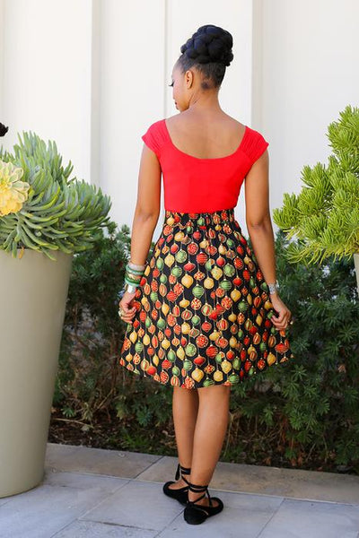 Deck the Halls Skirt