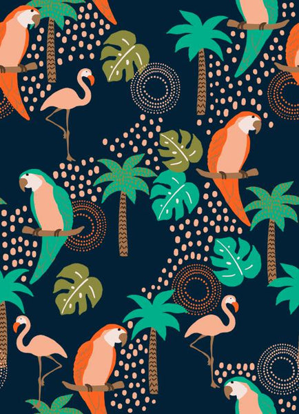 Tropical Birds Kids