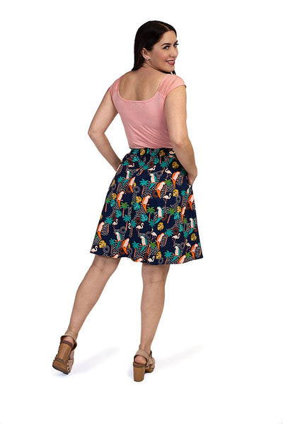 Tropical Birds Skirt