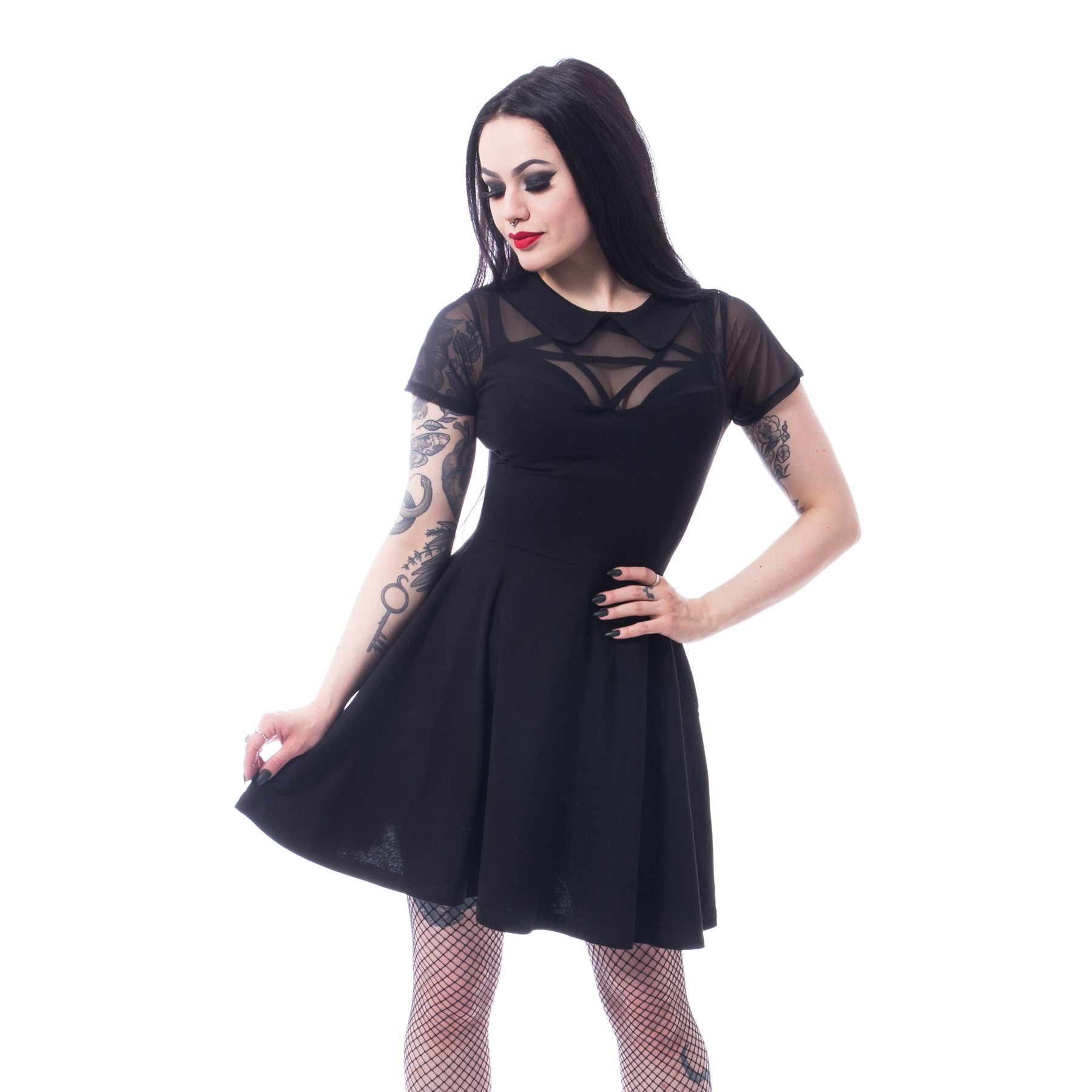 Hex Wednesday Dress