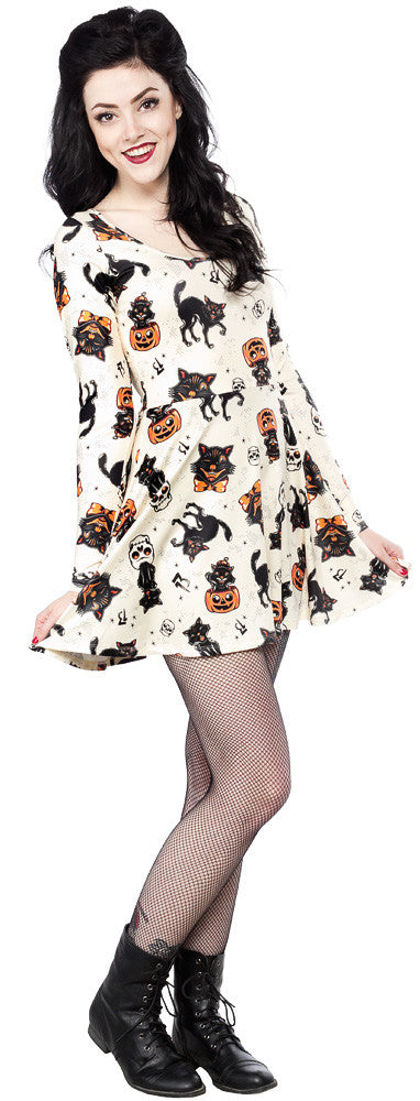Black Cats Dress