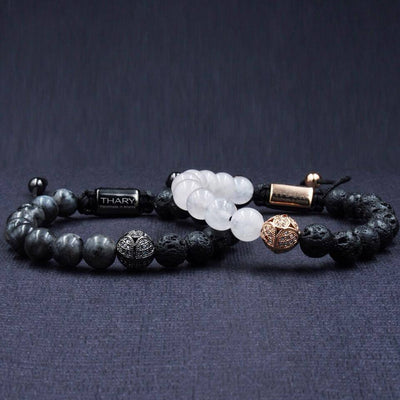 Couple's Lava Lover Bracelets