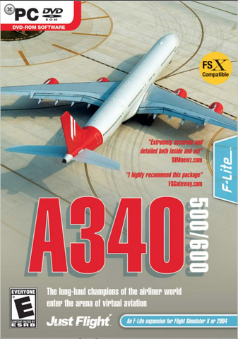 A340-500/600 Expansion for Flight Simulator X/2004