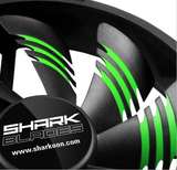 Sharkoon Shark Blades 120 x 120 x 25 mm (Green)