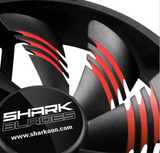 Sharkoon Shark Blades 120 x 120 x 25 mm (Red)