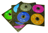 TekNmotion 20 Page (160 discs) Refill Sleeves for 256/320/400