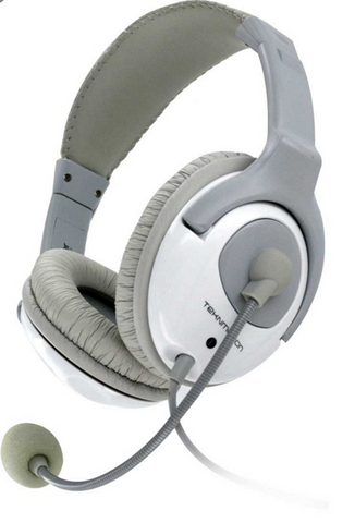 TekNmotion Yapster Stereo Headset (White)