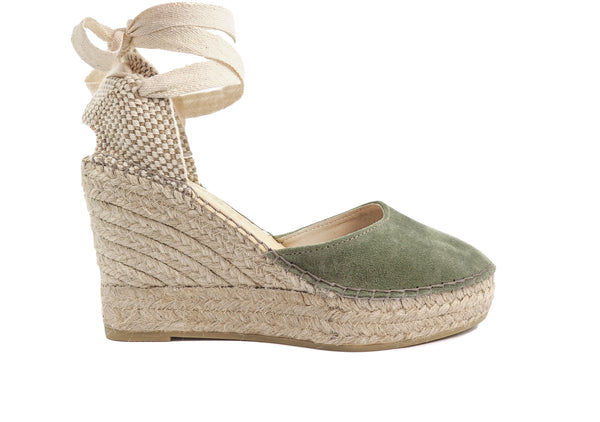Kaki Val High Wedge