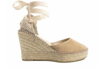 Kaki Valenciana High Wedge