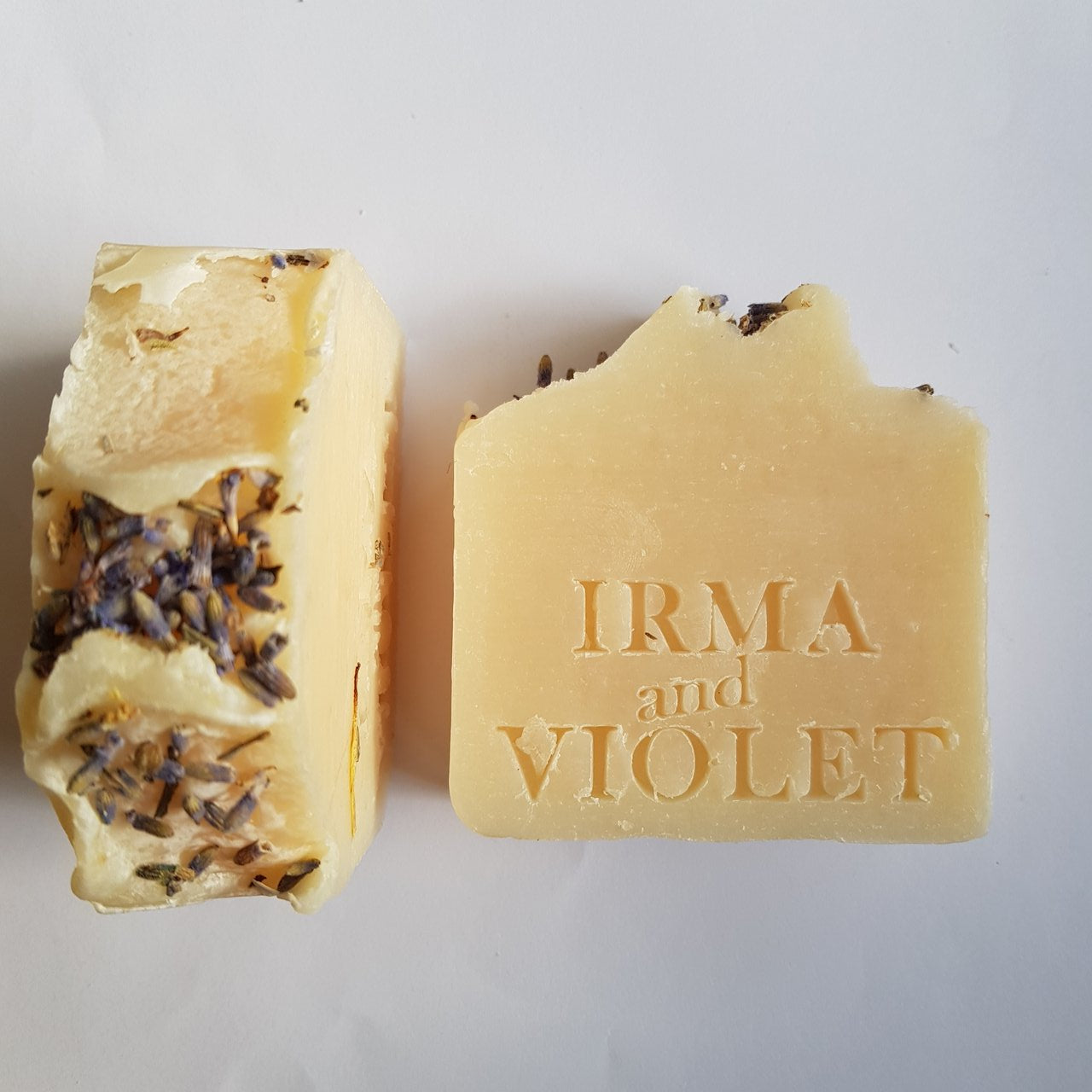 Lavender soap. handcrafted by IRMA and VIOLET