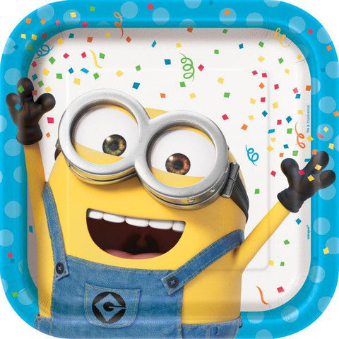 "Despicable Me Minions 9"" Dinner Plates 8ct"