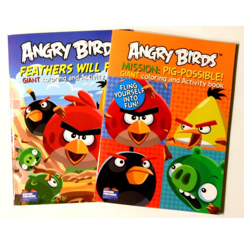 Angry Birds Giant Coloring and Activity Book