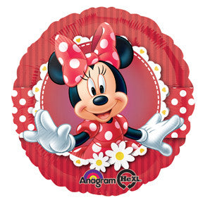 "Disney Mad About Minnie 18"" Foil Balloon"