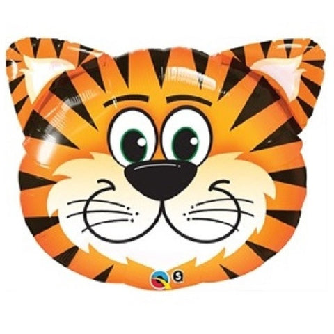 "14"" Tickled Tiger Foil Balloon"