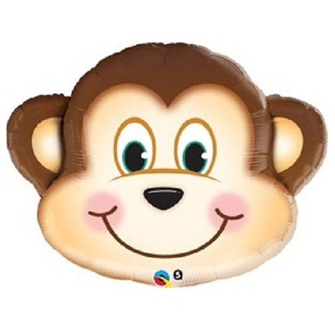 "14"" Mischievous Monkey Foil Balloon"