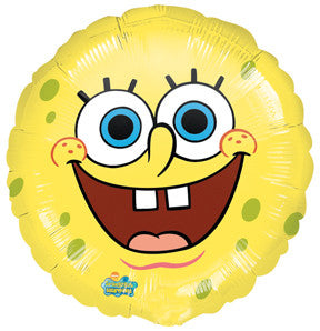 "SpongeBob Smiles 18"" Foil Balloon"