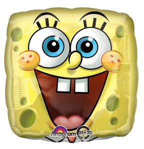 "Spongebob Square Face 18"" Foil Balloon"