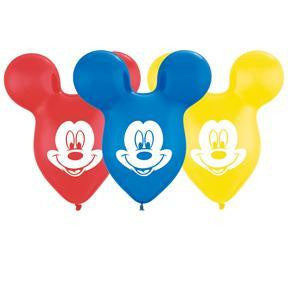 "Latex 15"" Mickey Ears Special Assortment  25ct"
