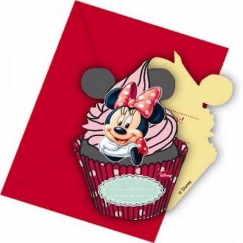 Minnie Cafe Invitations 6ct