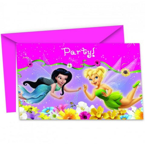 Springtime Fairies Invitations 6ct