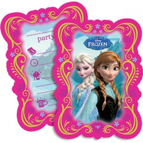 Frozen Party Invitations 6ct