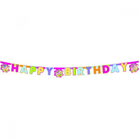 Springtime Fairies Birthday Banner